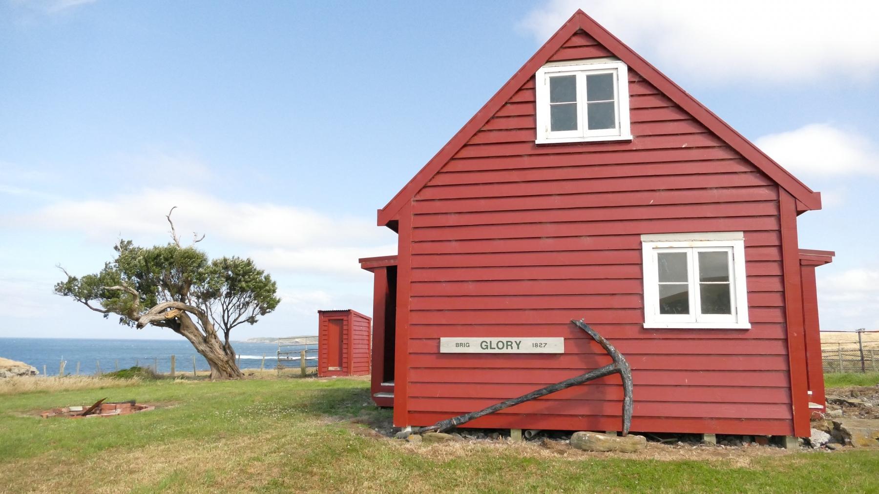 Glory Cottage at Glory Bay, Pitt Island