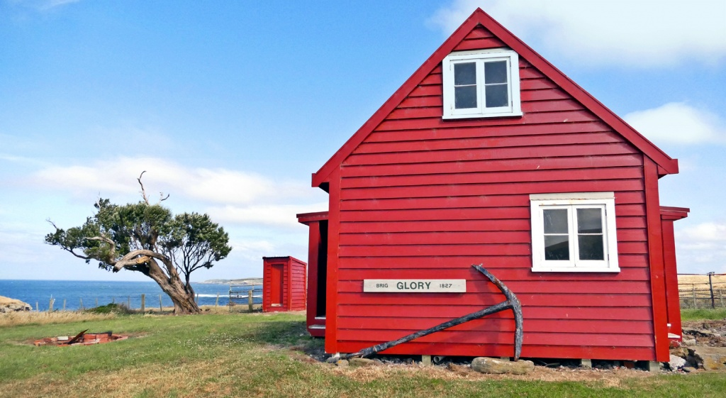 chatham islands Glory cottage